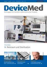 Marktübersicht: Sterilisation - DeviceMed.de