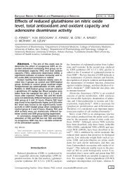 Effects of reduced glutathione on nitric oxide level, total antioxidant ...