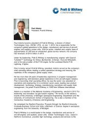 Paul Adams - Pratt & Whitney