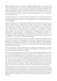 (1928–2007) komponierte 375 einzeln - Karlheinz Stockhausen