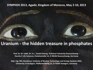 Uranium - the hidden treasure in phosphates