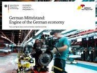 German Mittelstand Engine of the German economy