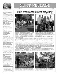 Bike Week accelerates bicycling