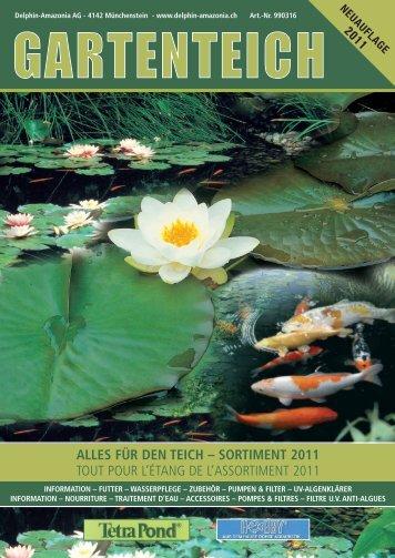 ALLES FÜR DEN TEICH - Delphin Amazonia AG