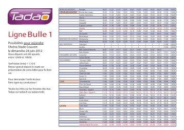 Ligne Bulle 1