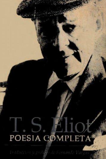 Poesía Completa T S Eliot