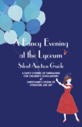 A Fancy Evening at the Lyceum