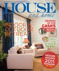 House and Home - Decorating Den Interiors