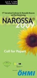 Call for Papers - escorena