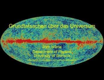 Theoretische Kosmologie