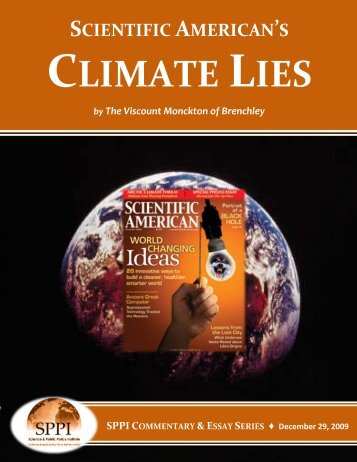 CLIMATE LIES