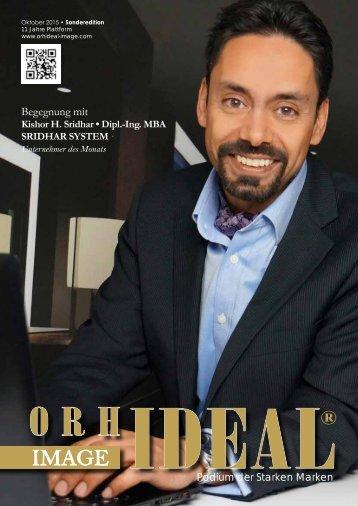 Orhideal IMAGE Magazin - Oktober 2015