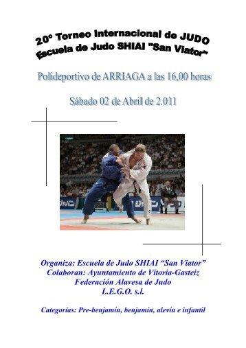 Torneo Internacional SHIAI 2-04-011.pdf - Federación Navarra de ...