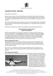 Rundbrief 2/3 2006 – Mitte März - Frauenfinanzdienst
