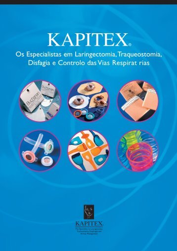Filtros das vias respirat rias - Kapitex Healthcare