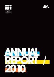 ANNUAL REPORT / 2010