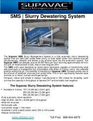 SMS | Slurry Dewatering System