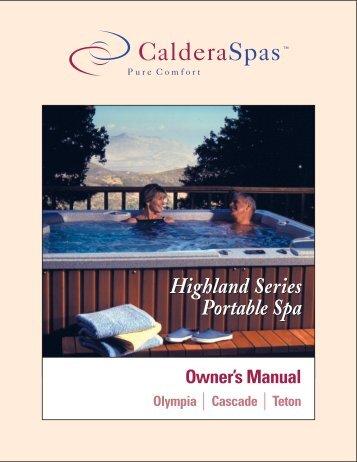Highland Series Portable Spa