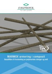 MARMOX armering i composit