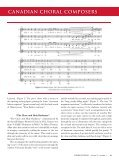 THE LIFE AND WORKS OF FOUR FEMALE CANADIAN CHORAL COMPOSERS - Page 6