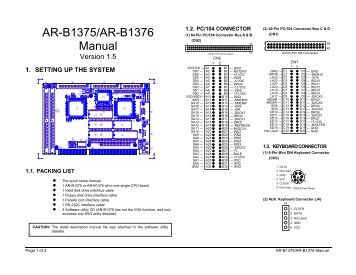 Acrosser AR-B1684 Driver for PC