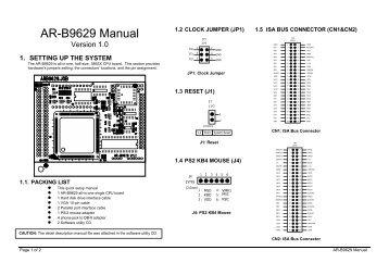 Acrosser AR-B1684 Driver PC