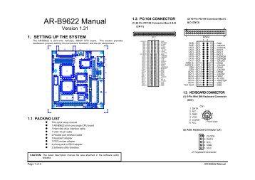 Acrosser AR-B1684 64Bit