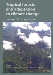 Tropical forests and adaptation to climate change