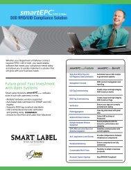 DOD RFID/UID Compliance Solution on
