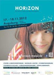 AUSSteLLeR ANGeBOt KURZINfO - Stadt Augsburg