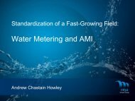 Water Metering and AMI