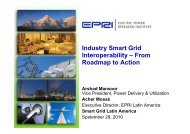 Industry Smart Grid Interoperability – From Roadmap to Action
