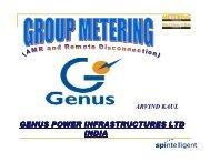 GENUS POWER INFRASTRUCTURES LTD INDIA