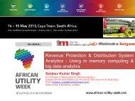 Revenue Protection & Distribution System Analytics ... - Esi-africa.com