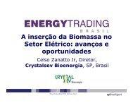 A inserção da Biomassa no Setor Elétrico avanços e oportunidades