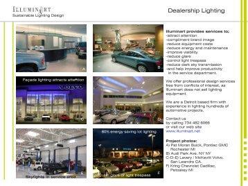 Dealership Lighting
