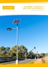 sun2light solutions