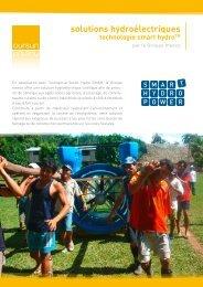 solutions hydroélectriques procurer communautés