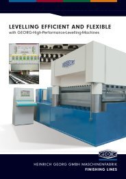 LEVELLING EFFICIENT AND FLEXIBLE - Heinrich Georg GmbH ...