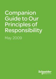 Companion Guide to Our Principles of Responsibility