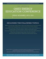 OHIO ENERGY EDUCATION CONFERENCE
