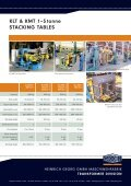 KLT & KMT 1–5 tonne STACKING TABLES - Heinrich Georg GmbH ... - Page 2