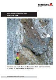 Barrera contra caída de rocas Kehlstein / Alemania - Geobrugg AG
