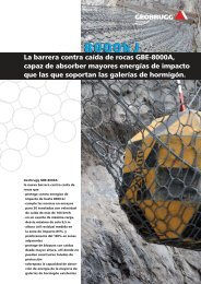 8000kJ La barrera contra caída de rocas GBE ... - Geobrugg AG