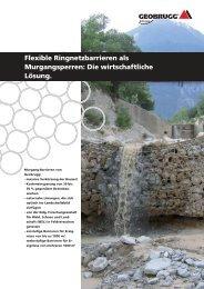 Murgänge - Geobrugg AG