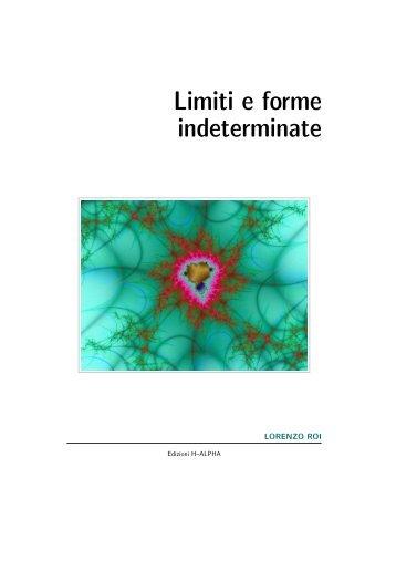 Limiti e forme indeterminate
