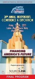 financing america's future financing america's future - (AFSA ...