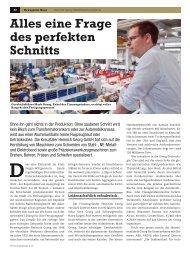 Alles eine Frage des perfekten Schnitts - Heinrich Georg GmbH ...