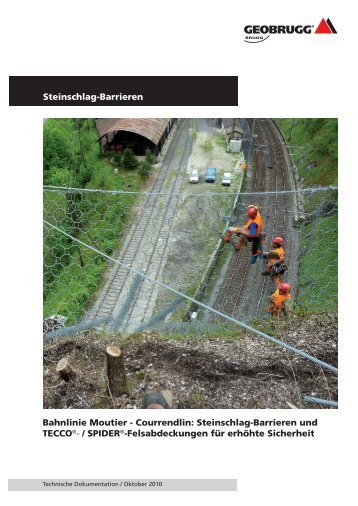 Steinschlag-Barrieren und TECCO - Geobrugg AG