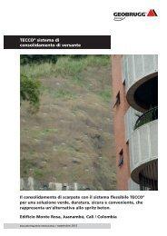 TECCO® sistema di consolidamento di versante ... - Geobrugg AG